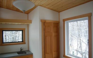 Nelson V Tiny House - interior