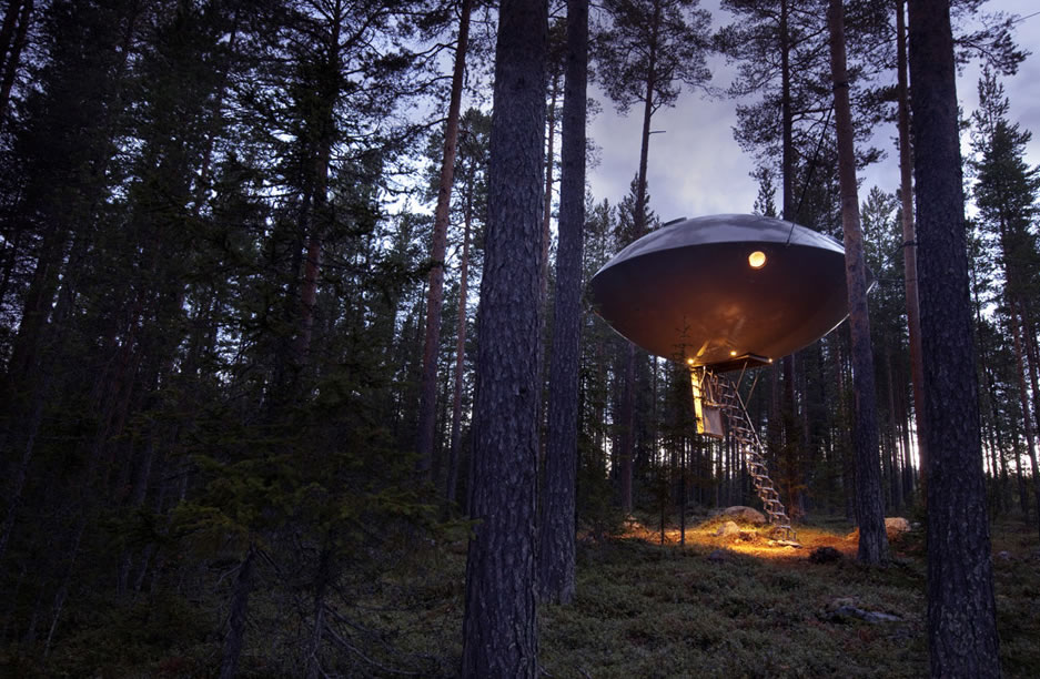 Treehotel - The UFO