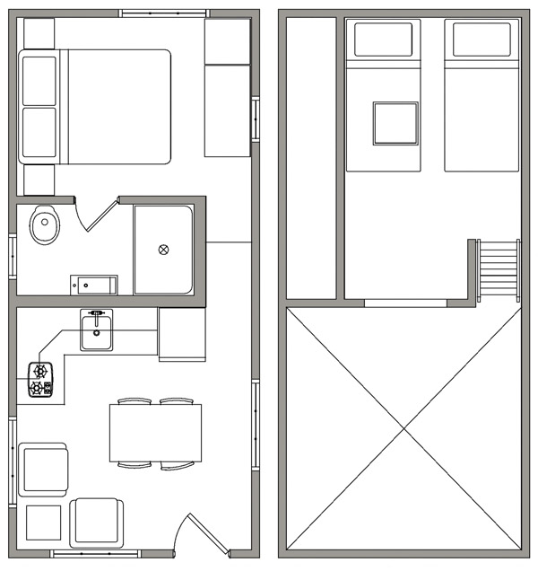 Uinta Floor Plan - Open Trail Homes