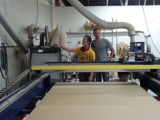 FOUNDhouse CNC milling