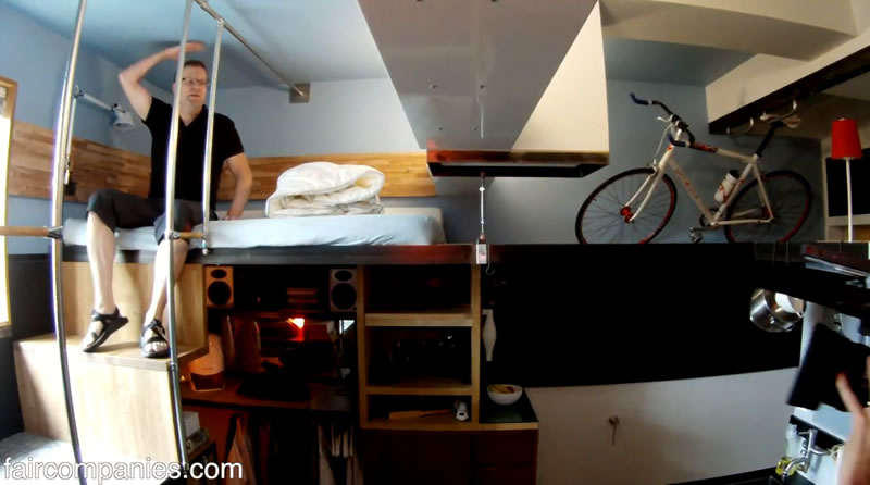 Pico Dwelling – Micro Apartment in Seattle