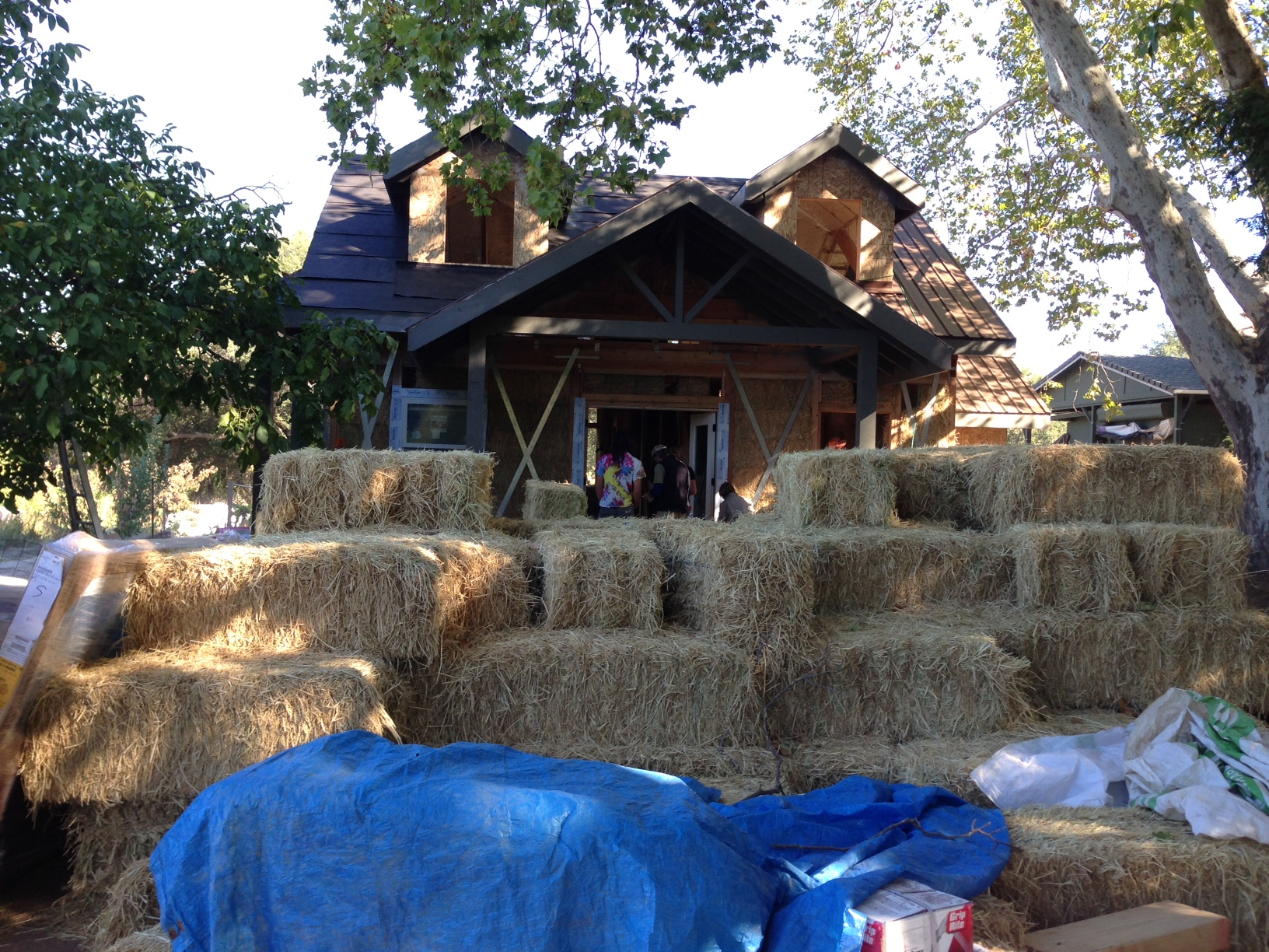 Straw Bale Construction Workshop with Andrew Morrison