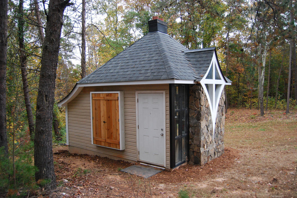 Jeff's Cabin & Greenhouse