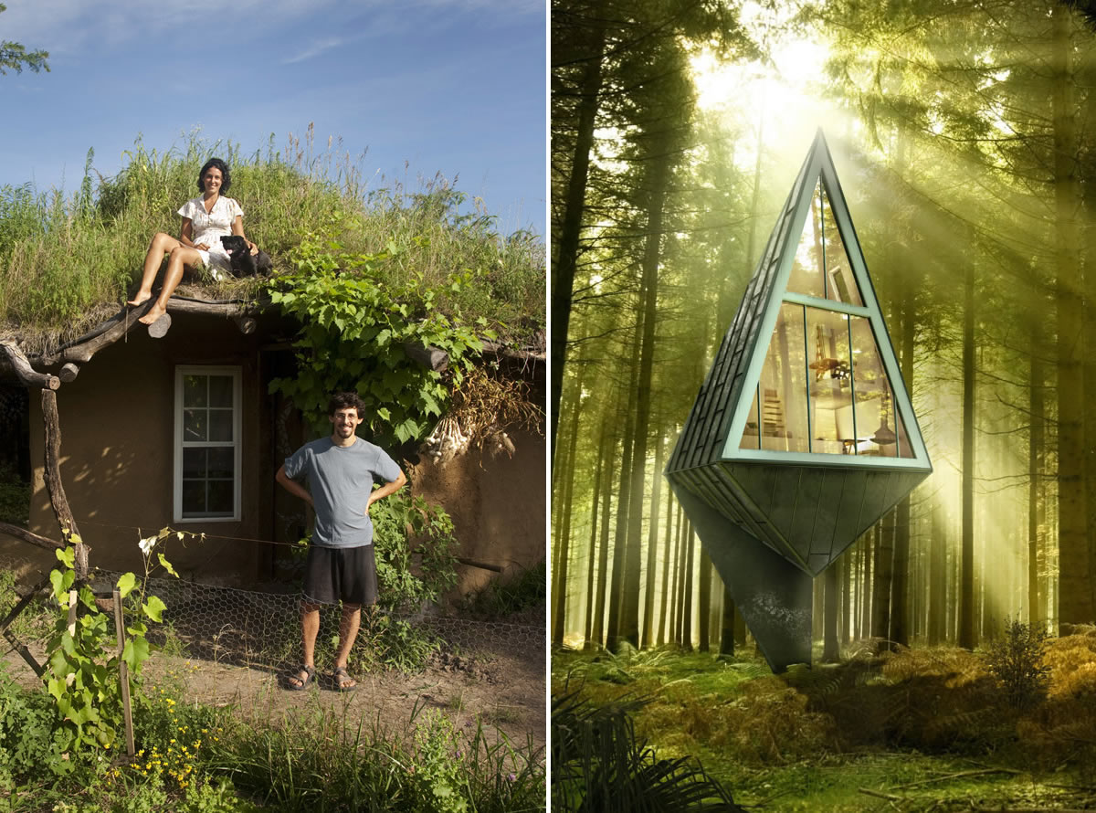 Low-Tech vs. High-Tech Tiny Homes