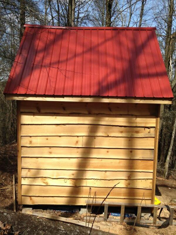gerald's prospectors cabin side wall
