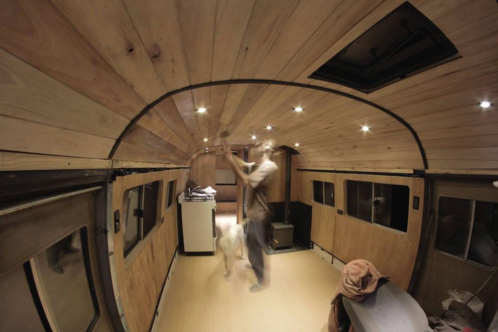 Tiny Home Designs: Off-Grid Adventure Bus