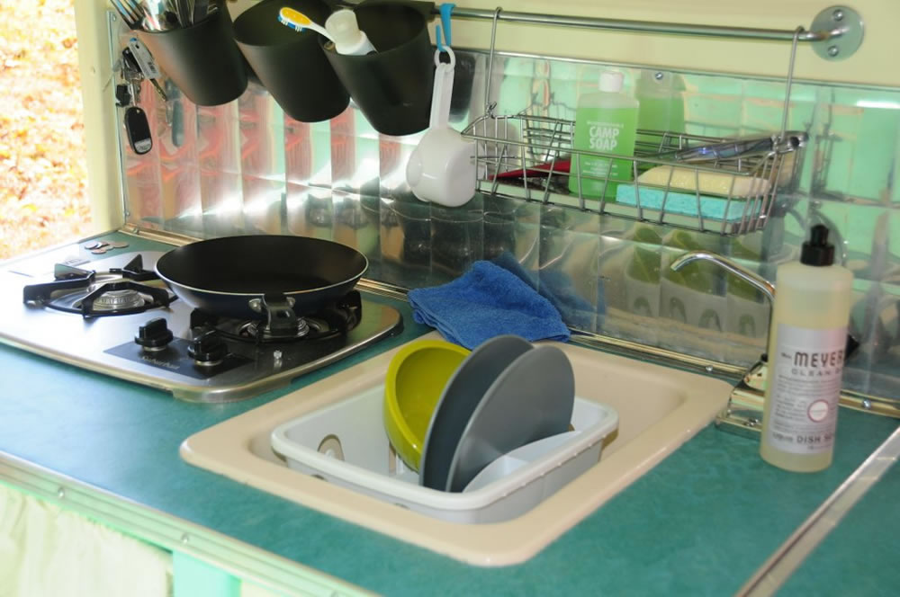 COMET Camper - Kitchen