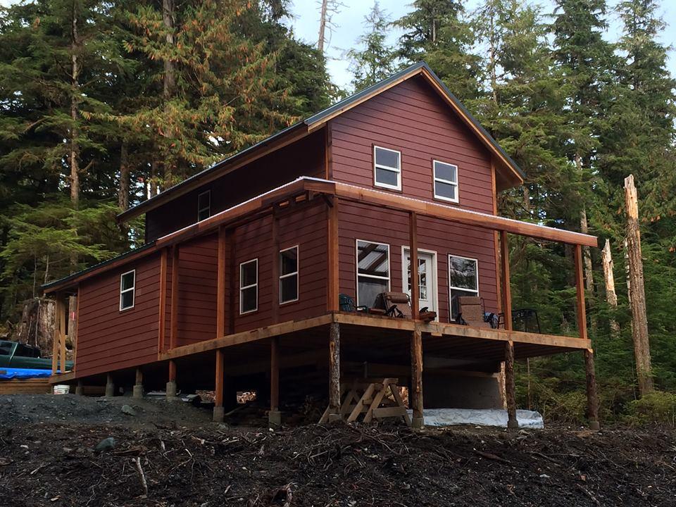 Ron's Custom Pioneer's Cabin