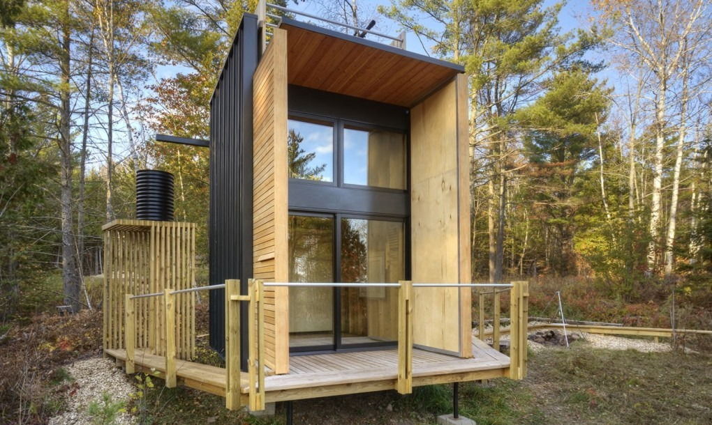 Off-Grid Cabin by Father-Son Team