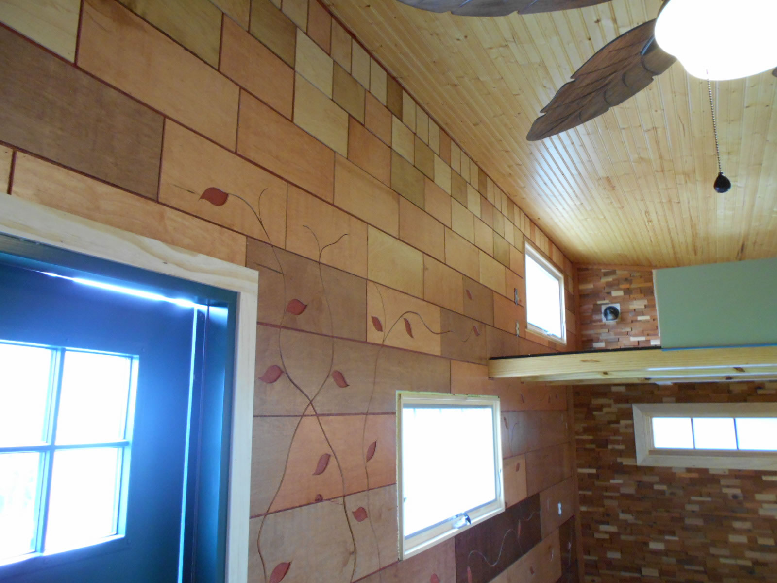 Mike's Tiny House - Interior Detail