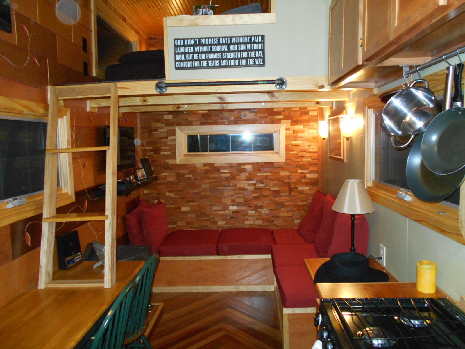 Mike's Tiny House - Interior