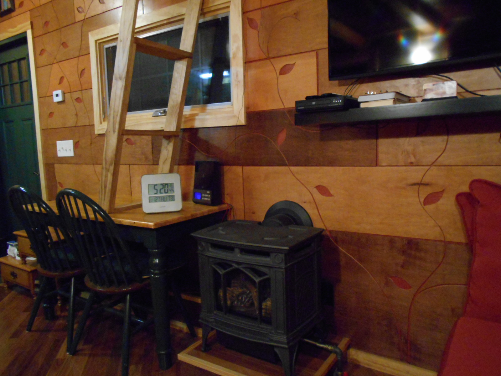 Mike's Tiny House - Stove