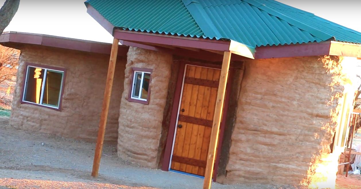 $3750 Tiny Earth Bag Home