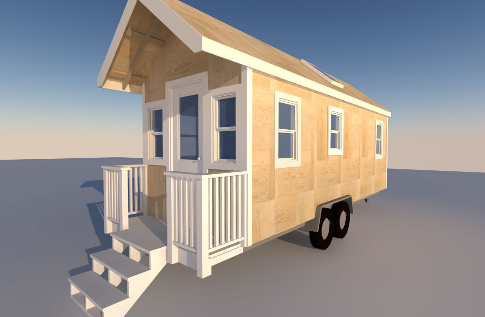 Tiny House Plan Mashup – Little River and Calpella