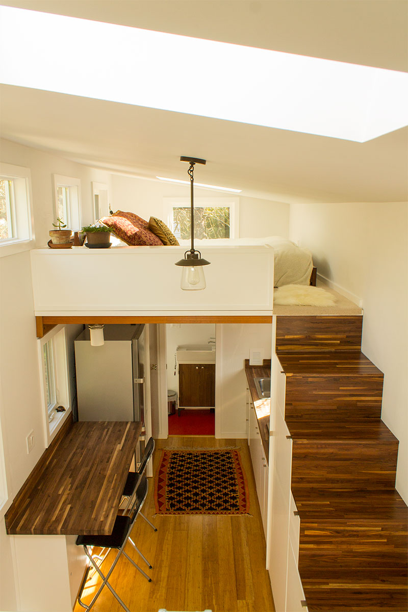 Hikari-Box-Tiny-House-Interior-From-Guest-Loft