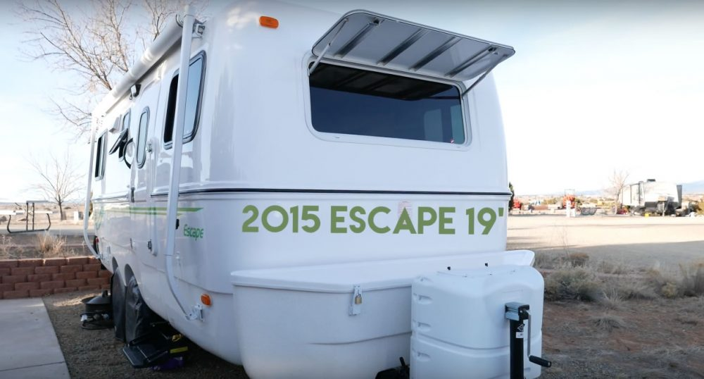 Casey Friday's Escape 19 Travel Trailer – Tiny House Design