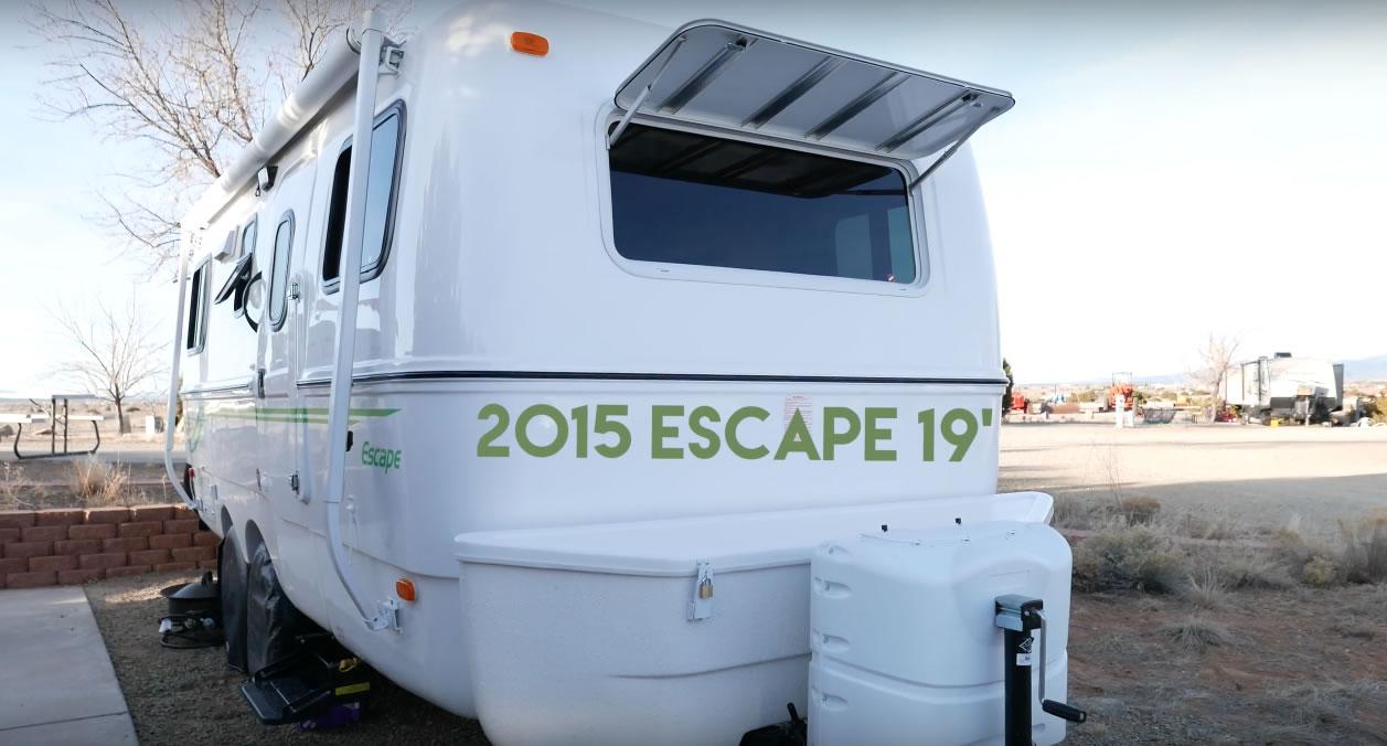 Casey Friday's Escape 19 Travel Trailer