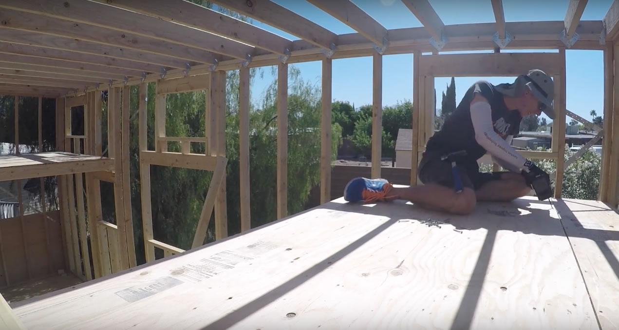 Life Inside A Box - Building a Tiny House Loft