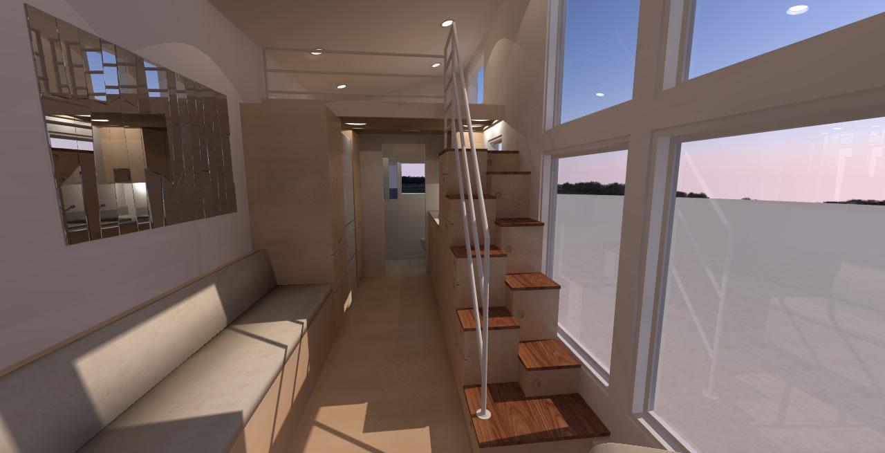Navarro 20 - Interior looking in from front door