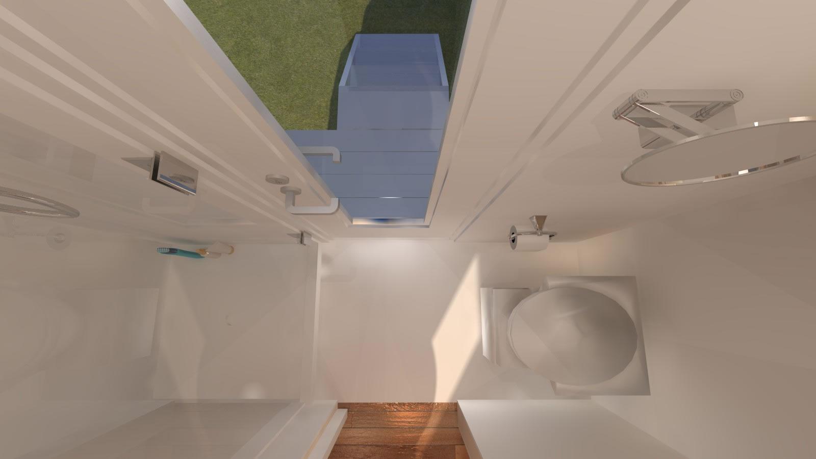 Anchor Bay 16 Tiny House - Bathroom