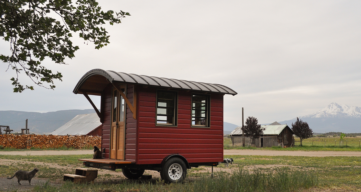 Dee Williams New Don Vardo Tiny House From Side photo Tammy Strobel