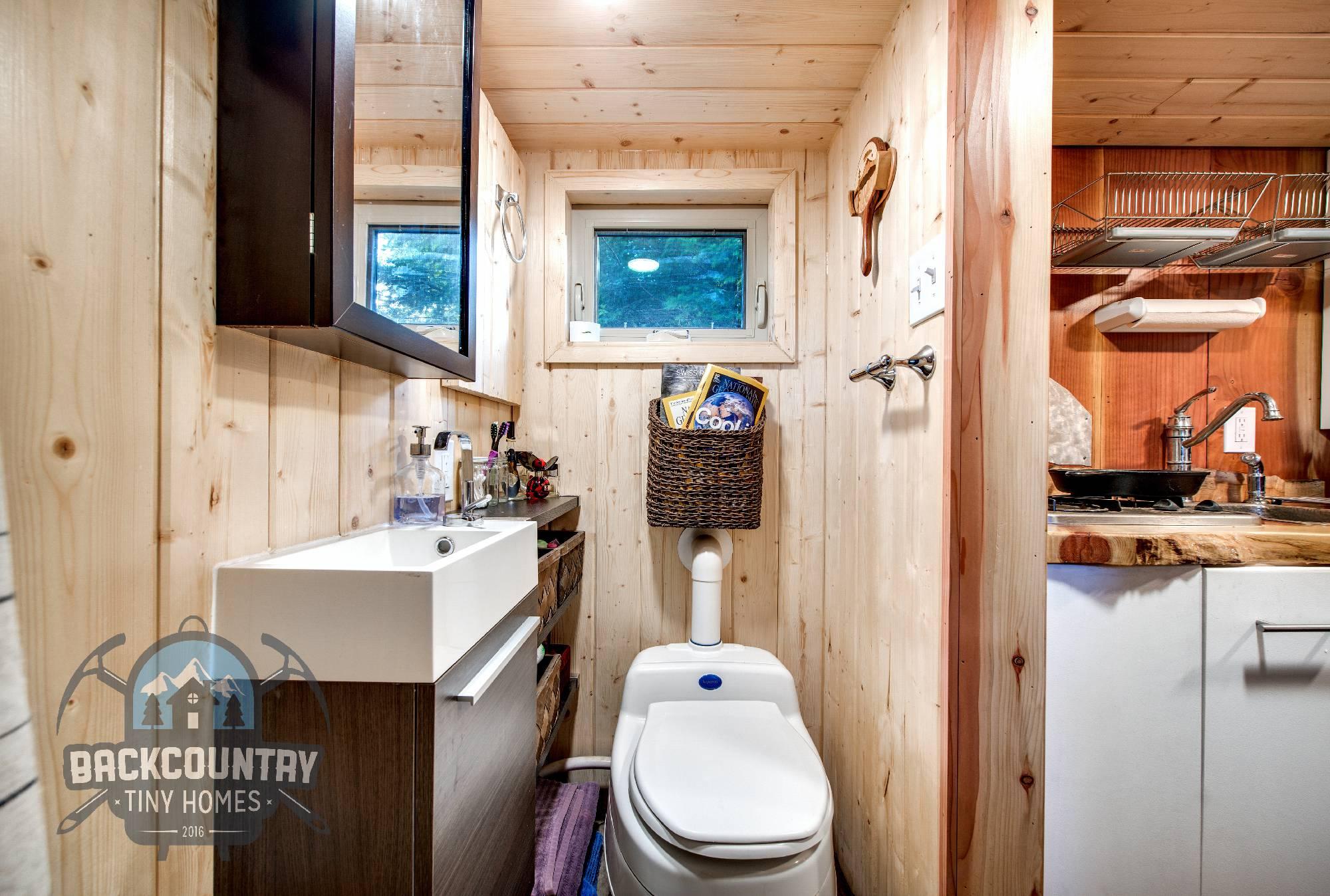 Backcountry Basecamp Tiny House bathroom 2