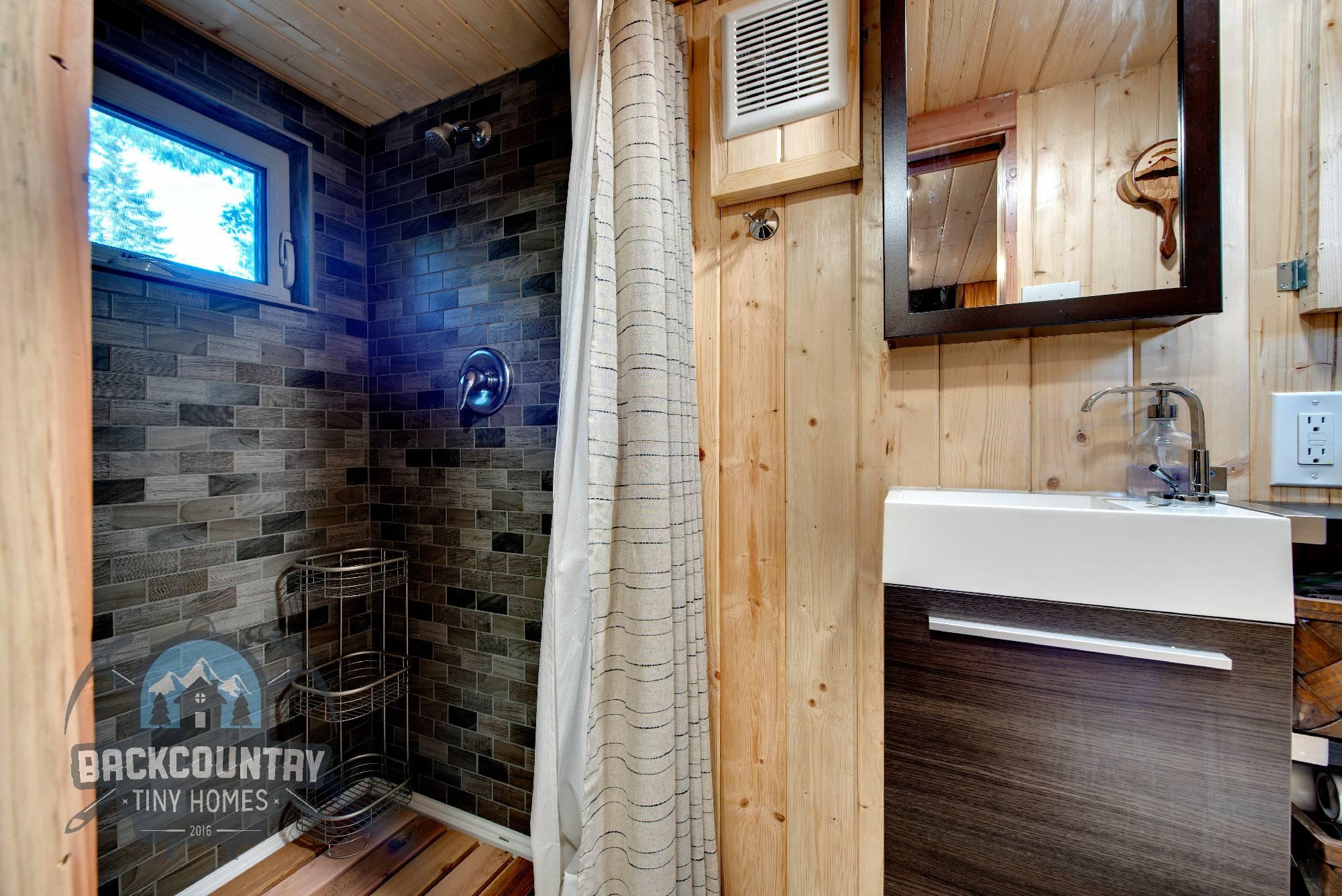 Backcountry Basecamp Tiny House bathroom