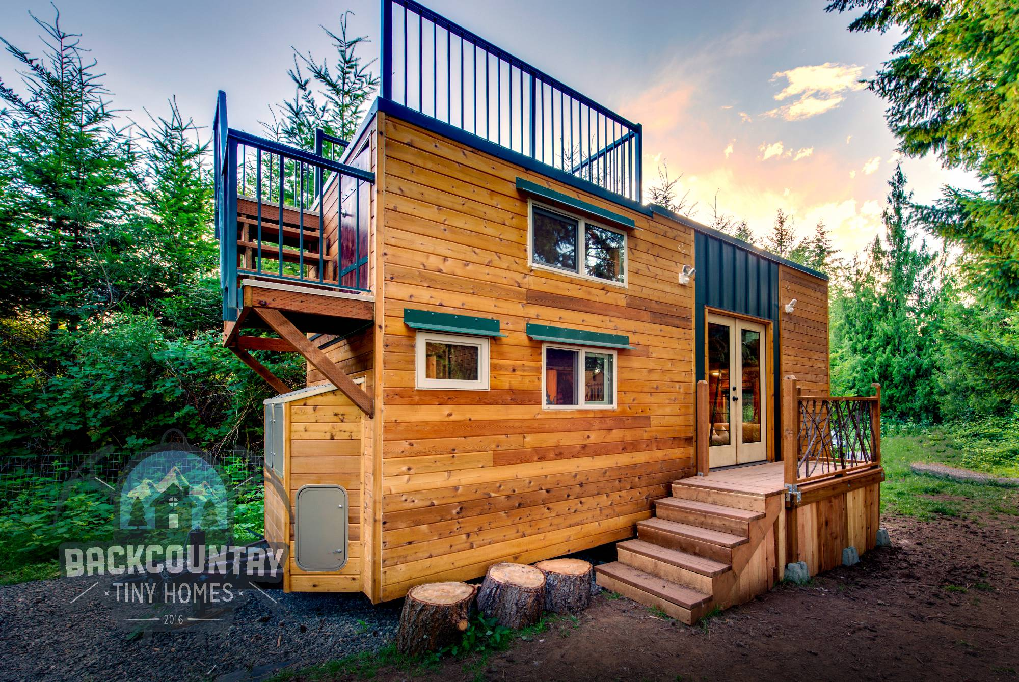 Backcountry Basecamp Tiny House - exterior 2