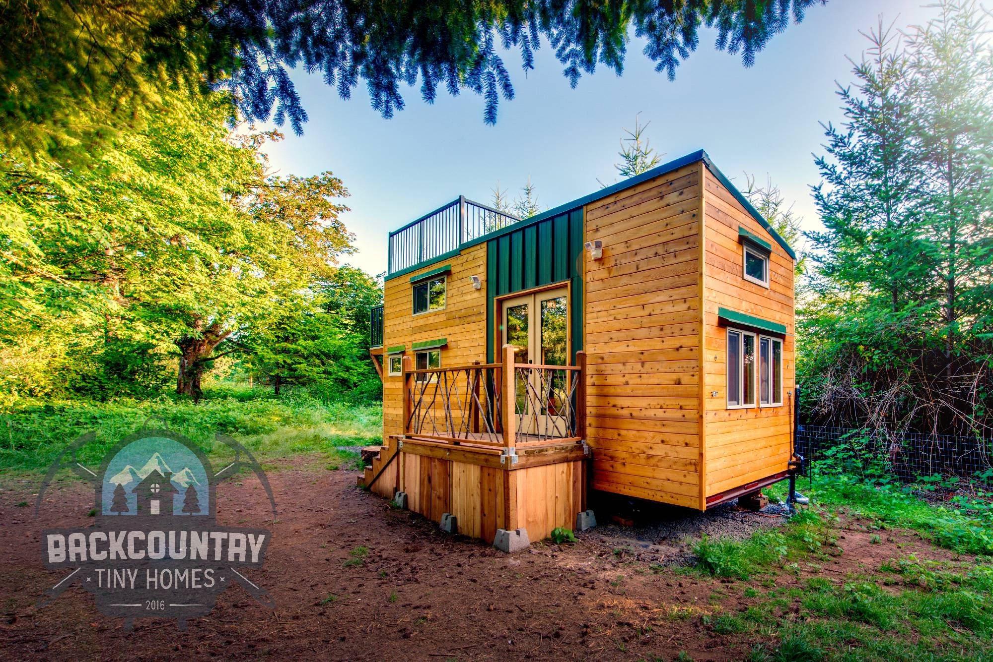 Tiny Home Designs: Luke & Tina's Basecamp Tiny House