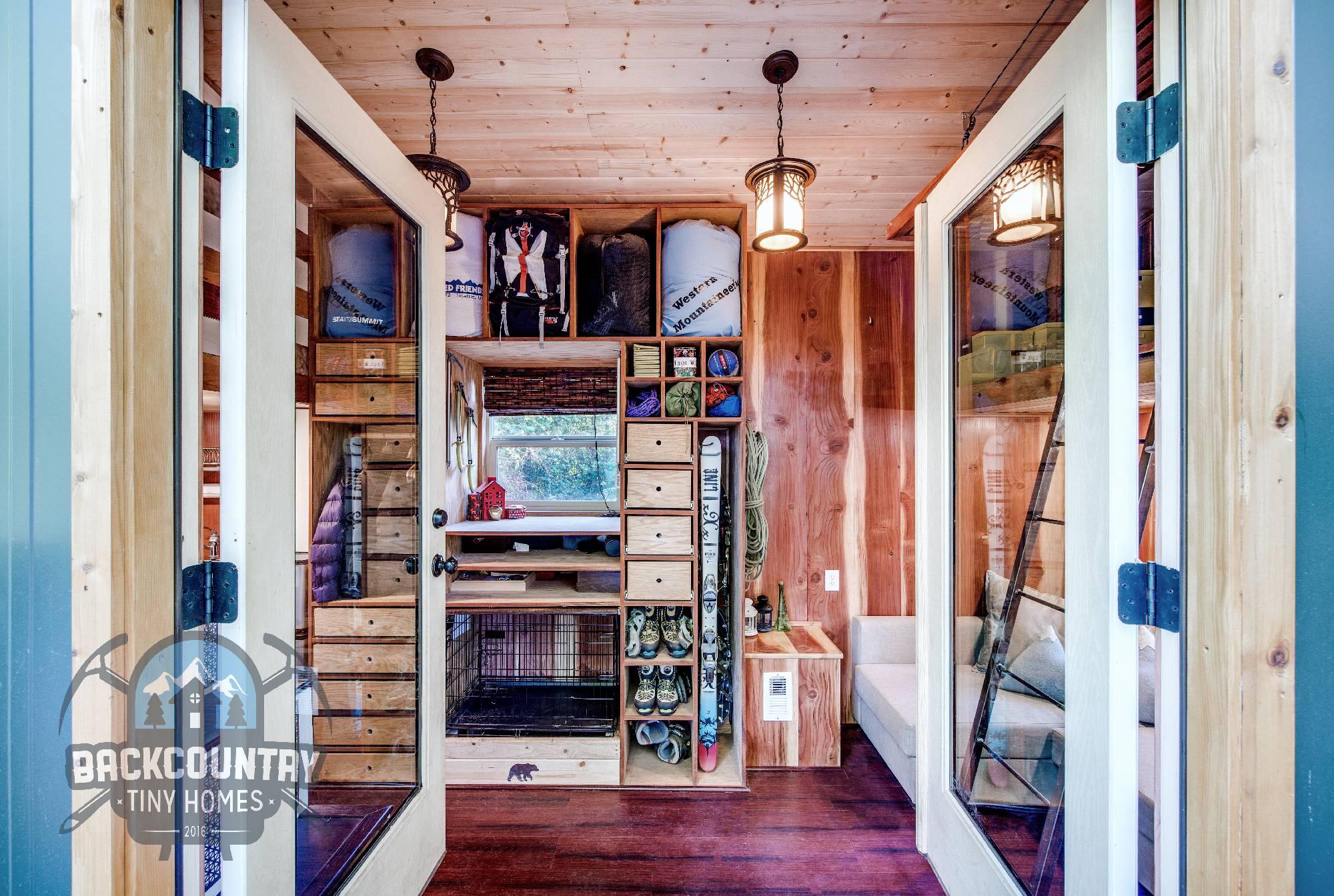 Backcountry Basecamp Tiny House interior