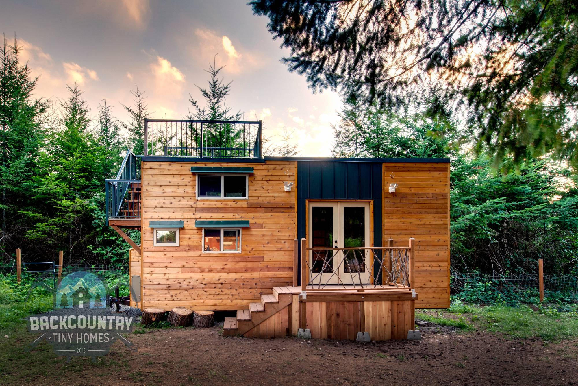 Backcountry Basecamp Tiny House
