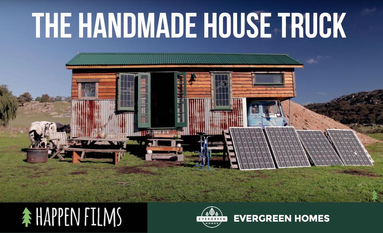 Adam and Sian's Handmade House Truck