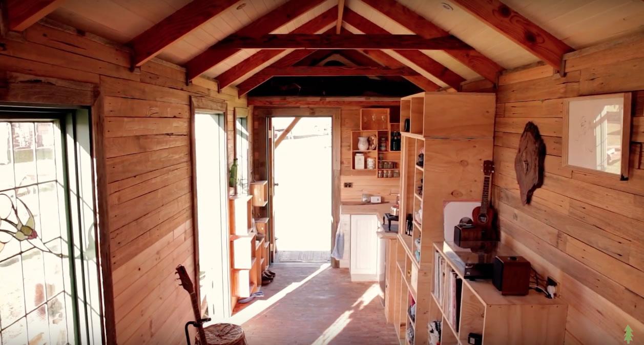 Handmade House Truck Interior 2