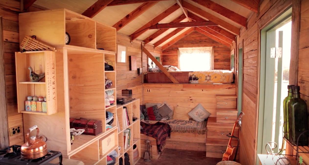 Handmade House Truck - Interior