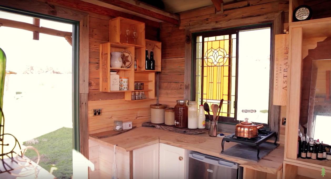 Handmade House Truck Kitchen