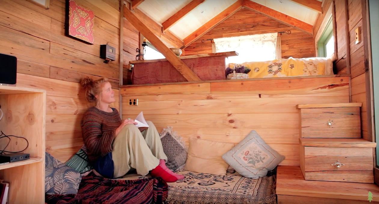 Handmade House Truck Living Room