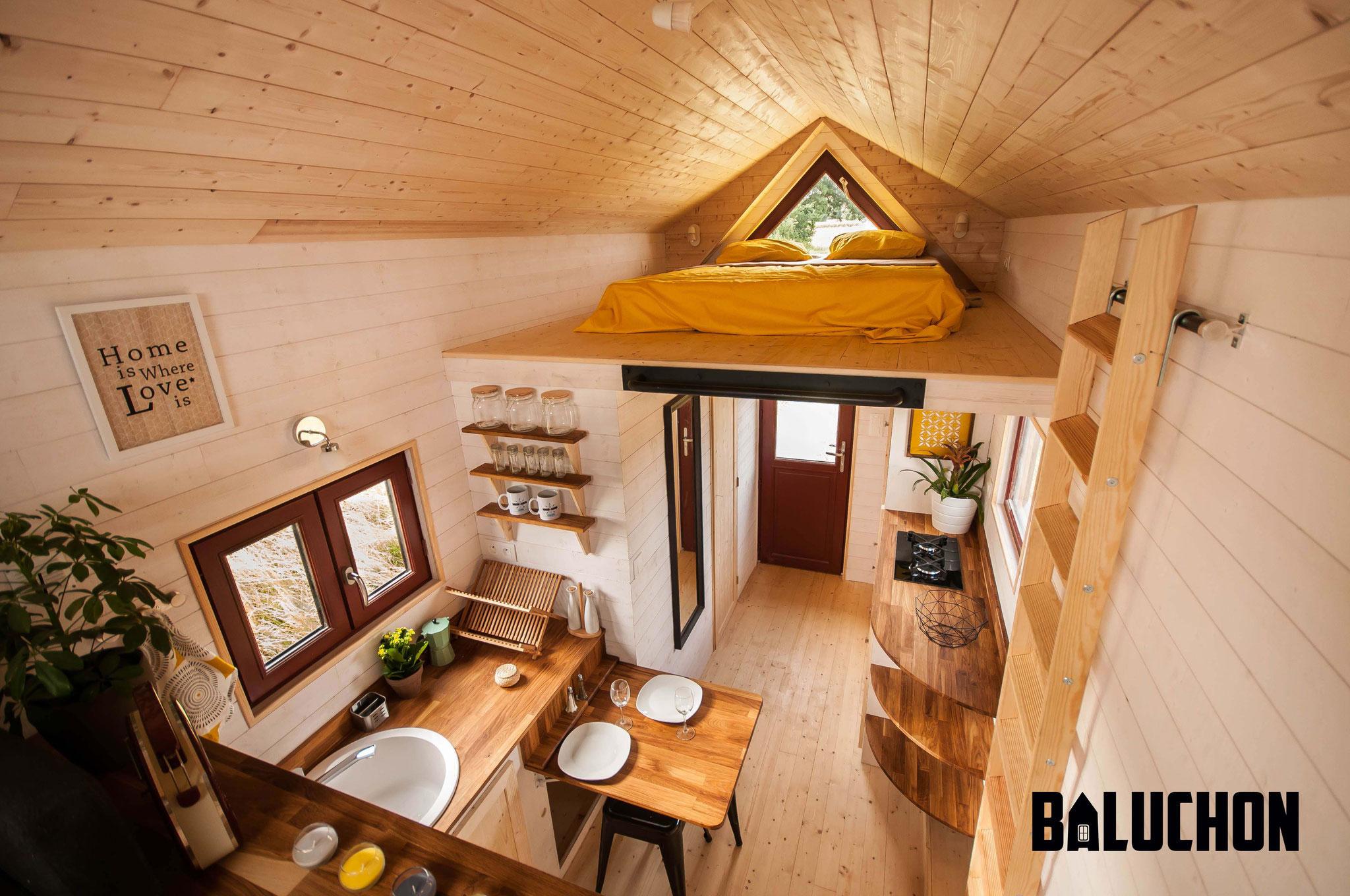 L'Odyssée - French Tiny House - Interior 2