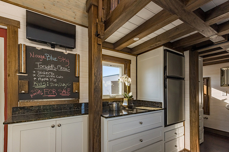 Nooga Blue Sky by Tiny House Chattanooga Kitchen 2