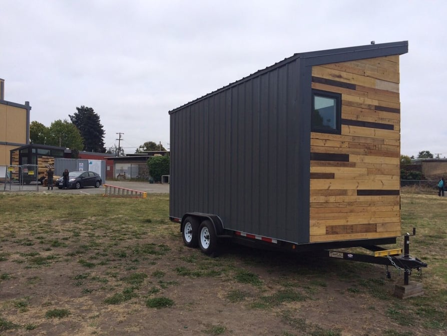 Students create solar-powered tiny house