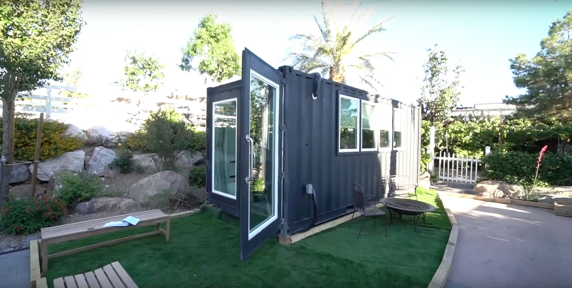 Exterior- Alternative Living Spaces Container Home