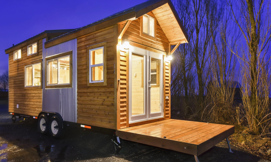 Exterior - Napa Edition by Mint Tiny Homes