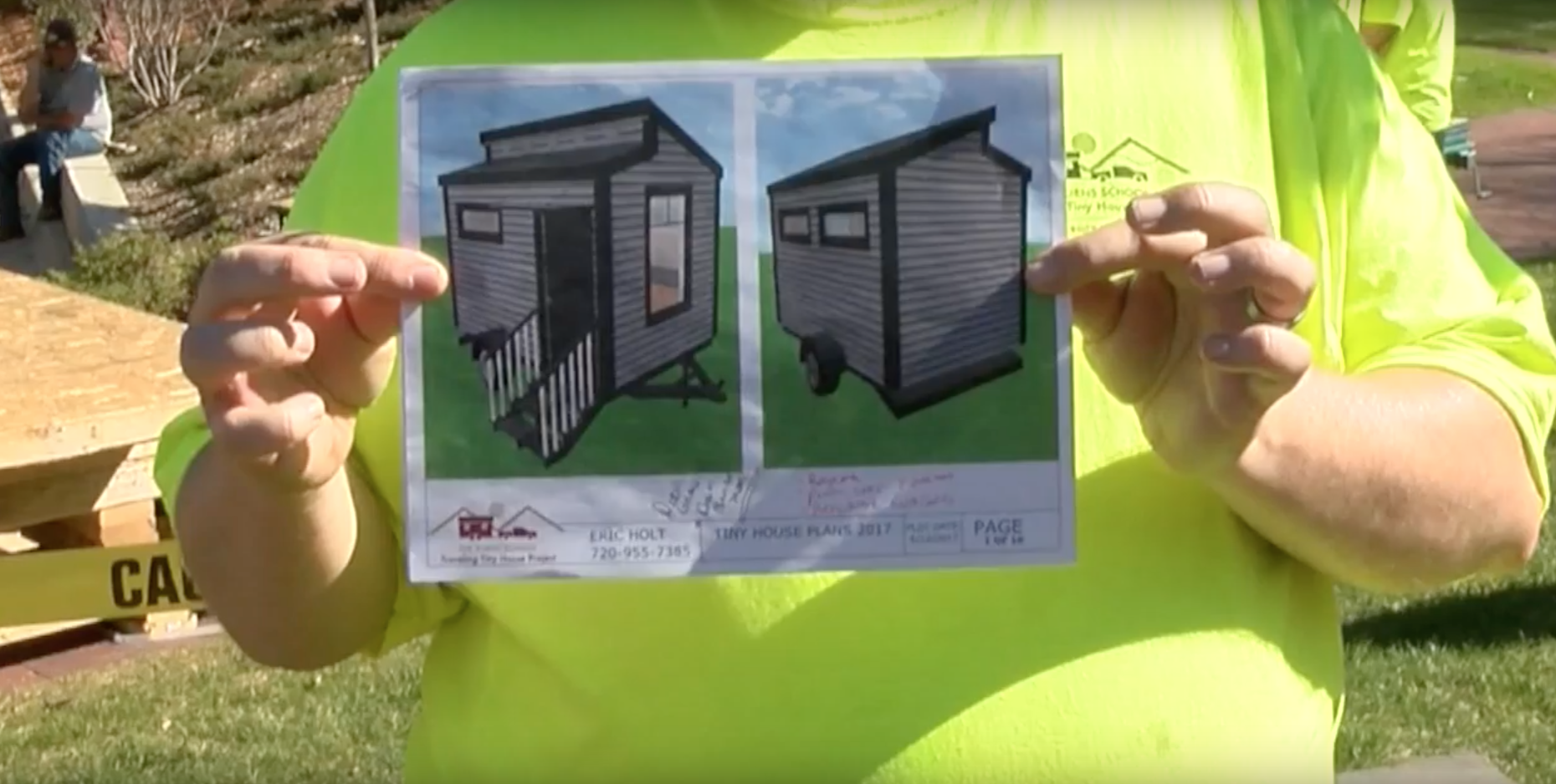 University of Denver Students Speed Build a Tiny House for the Homeless - Plans