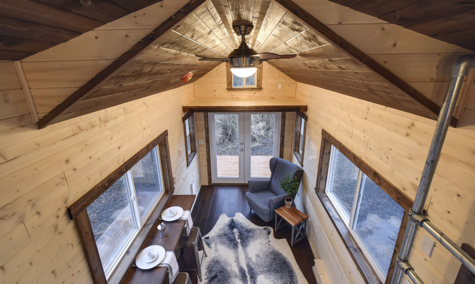 View from Loft - Napa Edition by Mint Tiny Homes