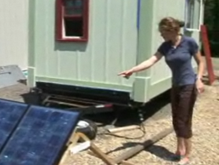 Update on Elizabeth Turnbull's Tiny House