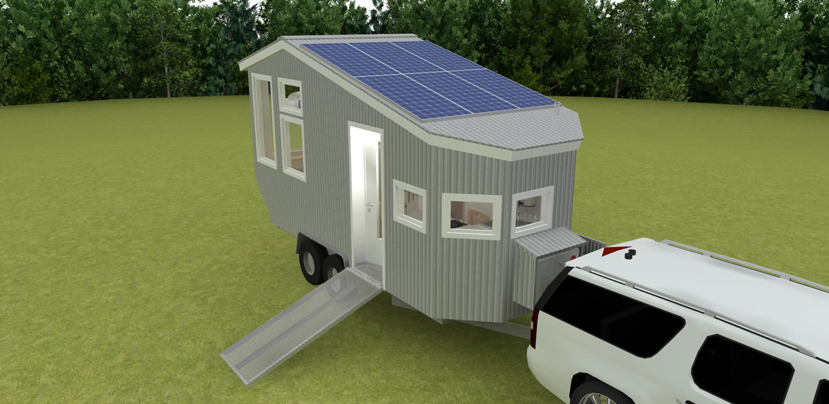 Road Trip Tiny House Design Concept Tinyhousedesign