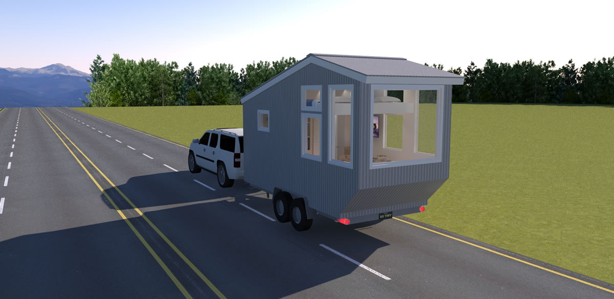 Road Trip Tiny House Design Concept