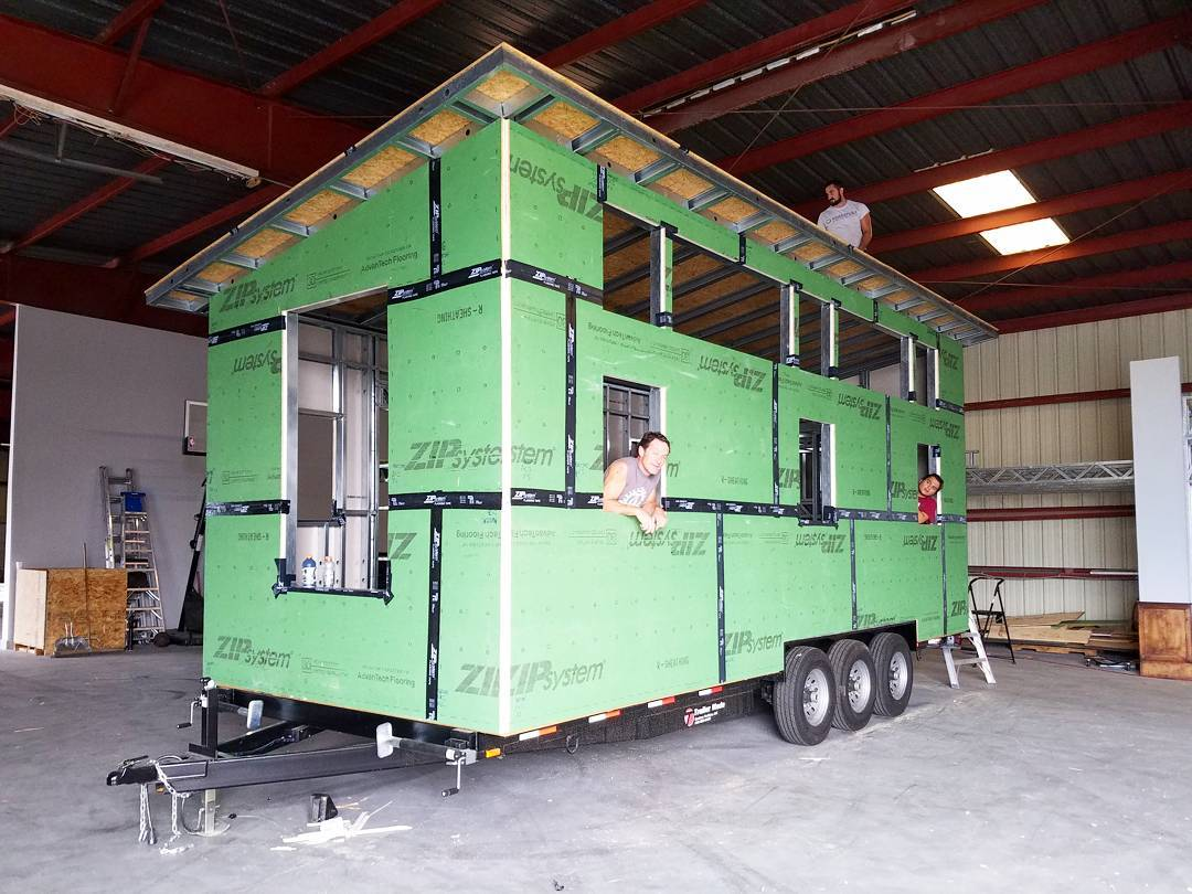 How to Defeat Thermal Bridging in Tiny House Steel Framing