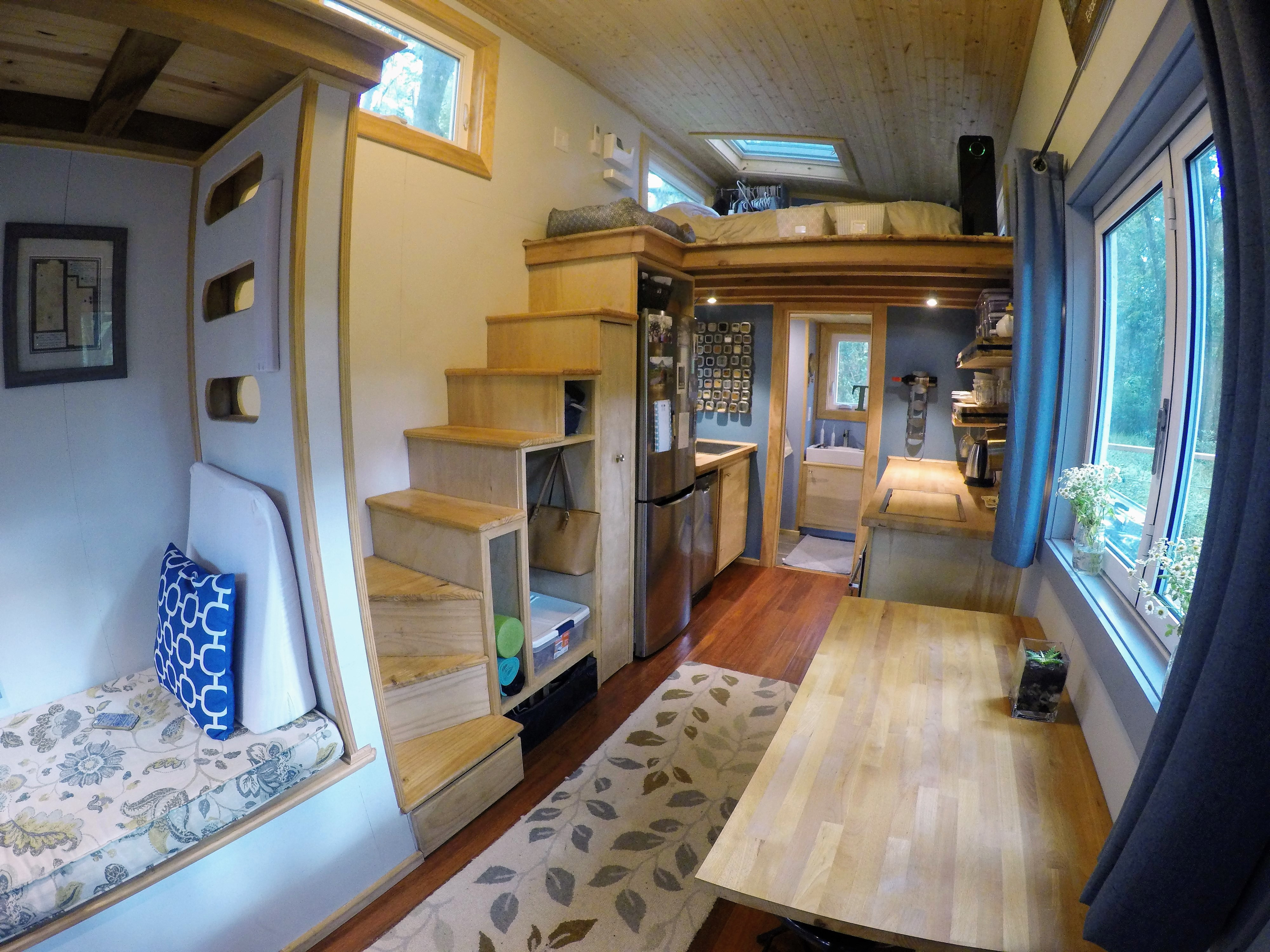 Austin & Heidi's Tiny House Creates Contentment