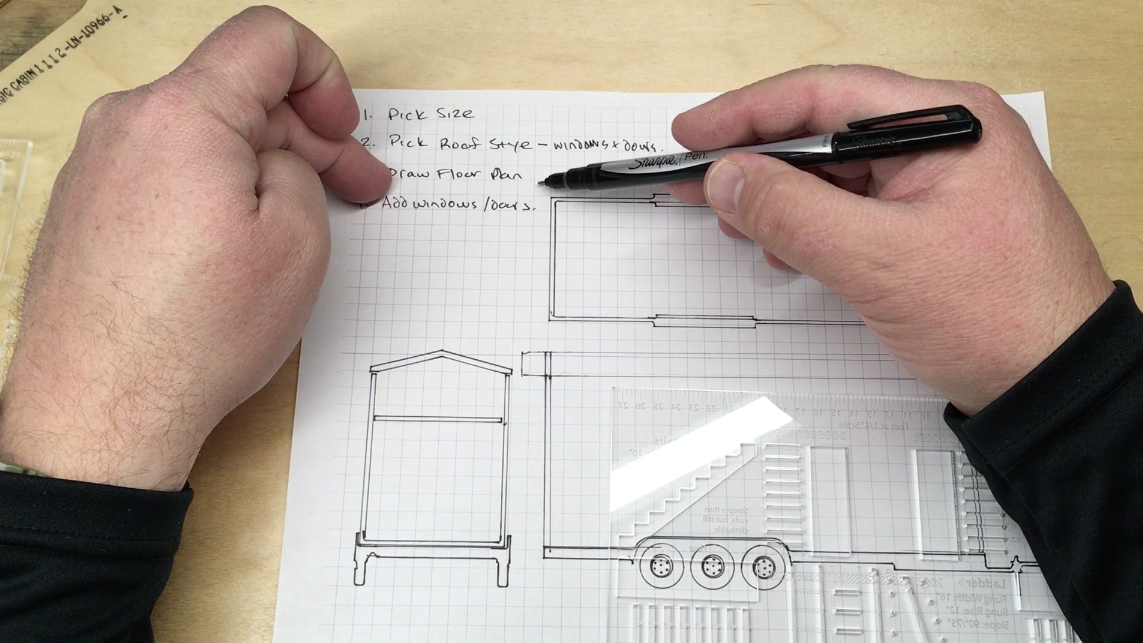 How To Design a Tiny House with Pen & Paper