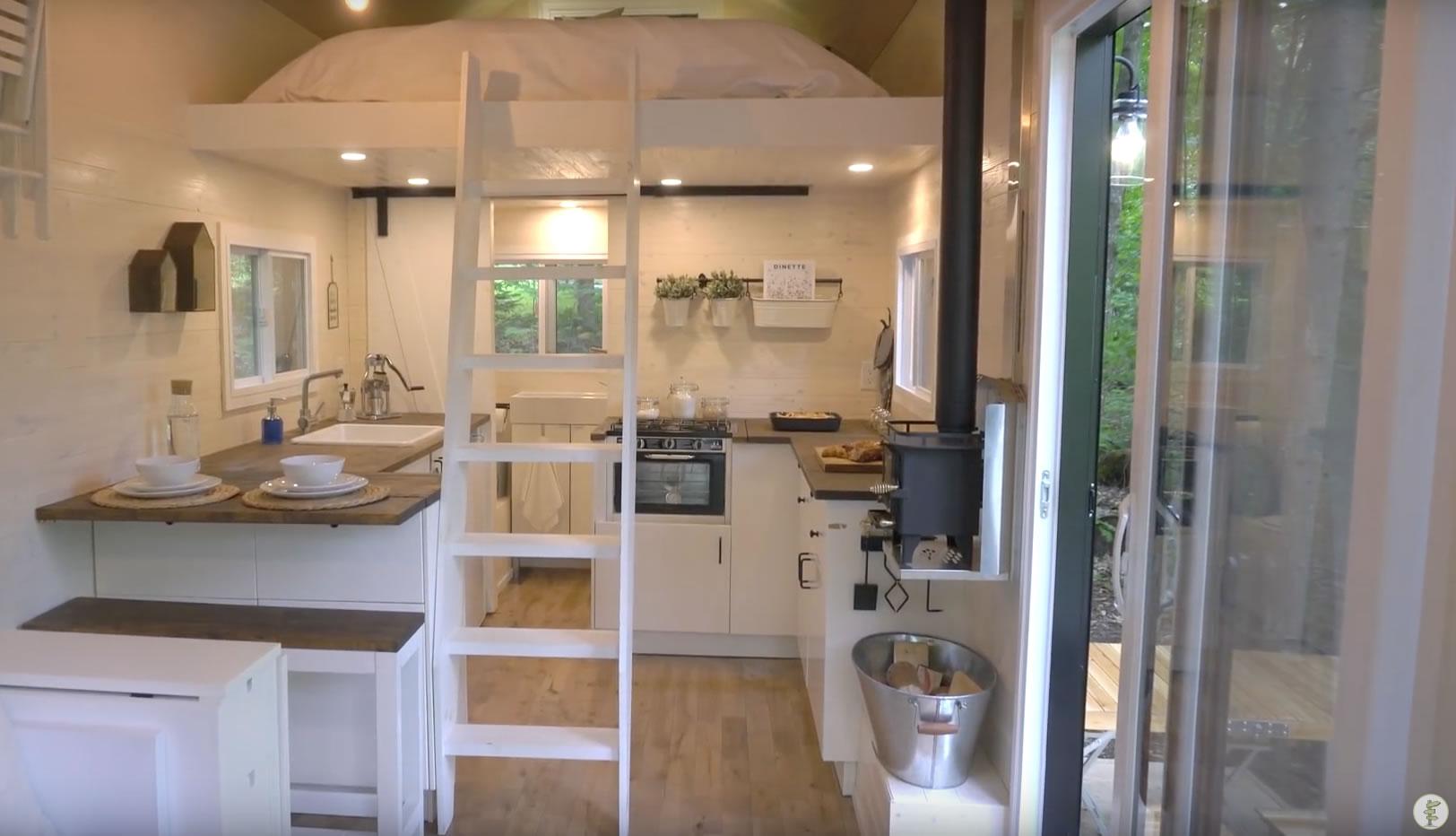 Off-Grid Scandinavian Style Tiny House